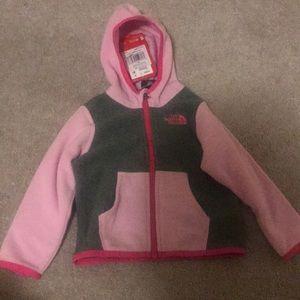 Infant Northface Hooded Jacket 18 M NWT